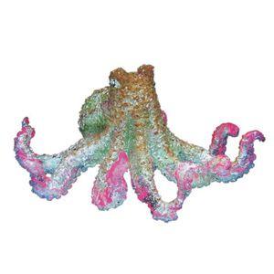 NOBBY Aqua Deco Pieuvre flottante 11cm pour aquarium