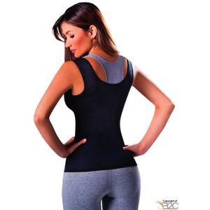 CHEMISE - CHEMISETTE Redu Shaper Femmes Shirt Black - néoprène, ceintur
