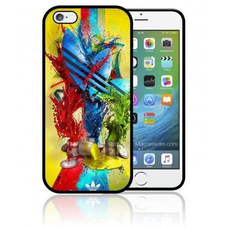 coque iphone 5 5s adidas original peinture couleurs sport apple achat vente coque iphone 5. Black Bedroom Furniture Sets. Home Design Ideas