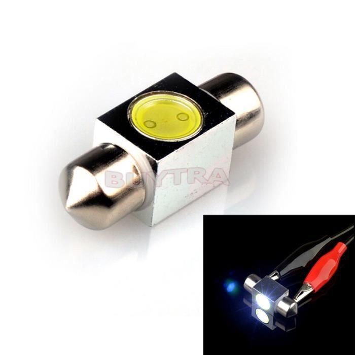 Lampe ampoules xenon festoon led d me int rieur voiture achat vente phare - Lampe interieur voiture ...