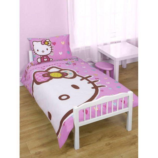 Hello kitty parure de lit housse de couette achat for Housse de couette 120 x 150
