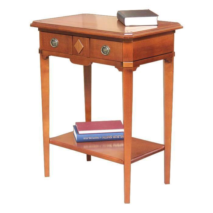 Table console en bois massif achat vente console table for Table console en bois