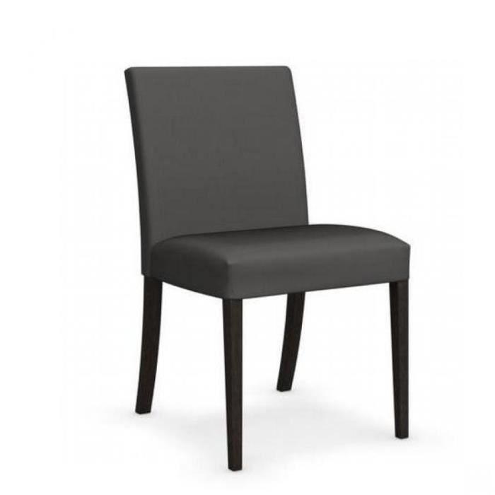 Chaise latina low weng et tissu couleur gris fonc de calligaris achat vente chaise gris for Chaise tissu couleur