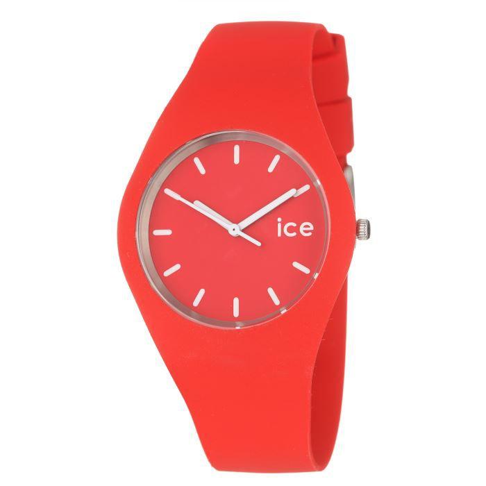 montre ice watch unisex collection ice rouge br achat vente montre bracelet. Black Bedroom Furniture Sets. Home Design Ideas