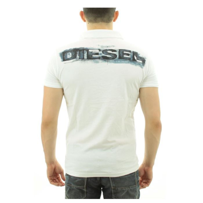 polo diesel homme t capra cpny blanc achat vente polo polo diesel homme t capra. Black Bedroom Furniture Sets. Home Design Ideas