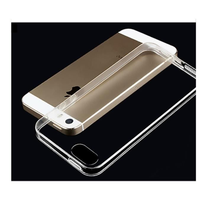 Shopyes pack special film verre incassable housse etui for Housse iphone 5se