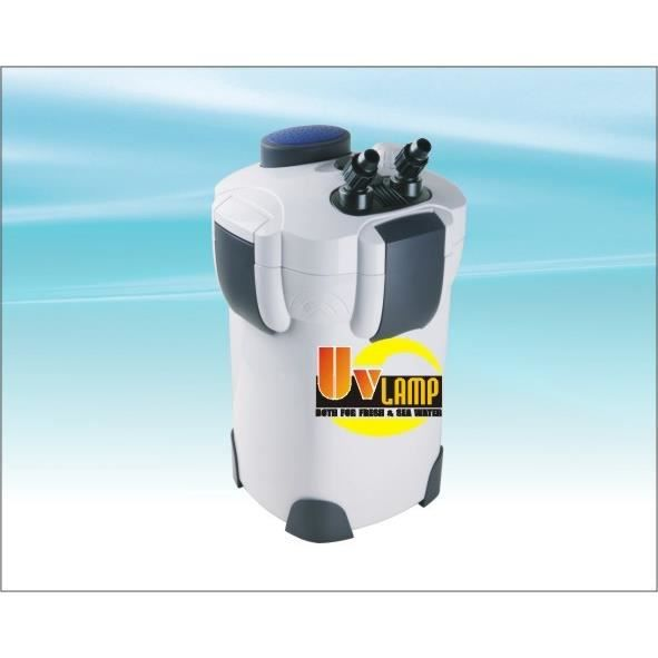 Filtre externe 2000 l h avec uv 9w pour aquariums achat for Pompe externe aquarium