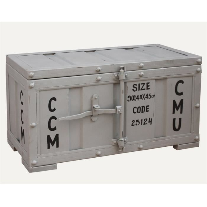Coffre swithome container blanc achat vente coffre for Achat container