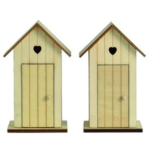 Cabine en bois achat vente cabine en bois pas cher for Plan cabine de plage en bois