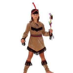 déguisement indienne fille 4 ans