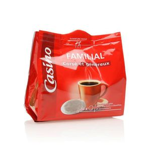 CAFÉ - CHICORÉE Dosettes café corsé et généreux