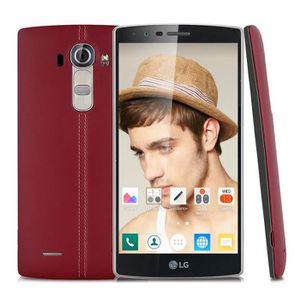 """SMARTPHONE LG G4 H818P 5.5"""" 4G Smartphone Téléphone Rouge And"""