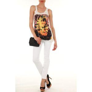 JEANS Jeans Scarlett Lee Blanc