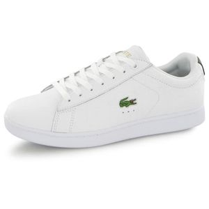 BASKET Lacoste Carnaby Evo G117 blanc, baskets mode homme