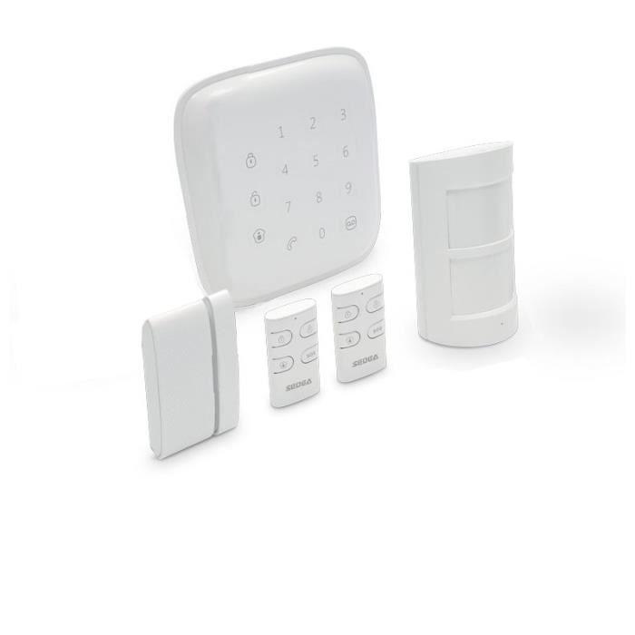 Kit alarme maison sans fil connect sedea achat vente for Alarme maison internet