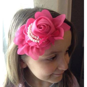 bandeaux cheveux enfants fleur rivi re de perles achat vente bandeau serre t te bandeaux. Black Bedroom Furniture Sets. Home Design Ideas