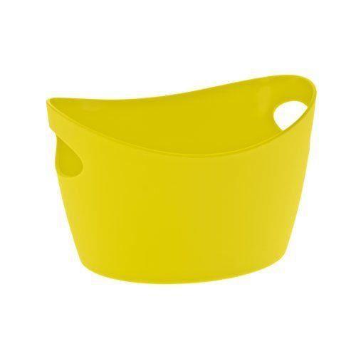 koziol bottichelli petit panier de rangement jaune. Black Bedroom Furniture Sets. Home Design Ideas
