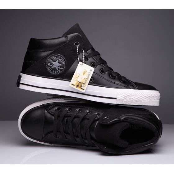 chaussures converse homme cuir