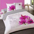 linge de lit achat vente linge de lit pas cher les soldes sur cdiscount cdiscount. Black Bedroom Furniture Sets. Home Design Ideas