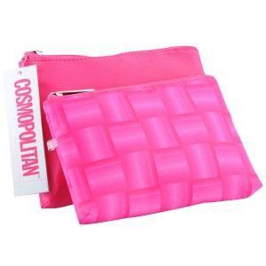 Cosmopolitan 2 Pieces Cosmetic Bag Set