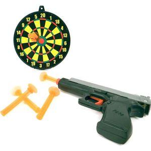 pistolet avec cible enfant achat vente jeux et jouets pas chers. Black Bedroom Furniture Sets. Home Design Ideas