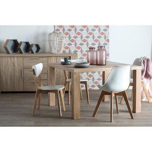 TABLE A MANGER SEULE WILD Table à manger carrée de 4 à 8 personnes scan