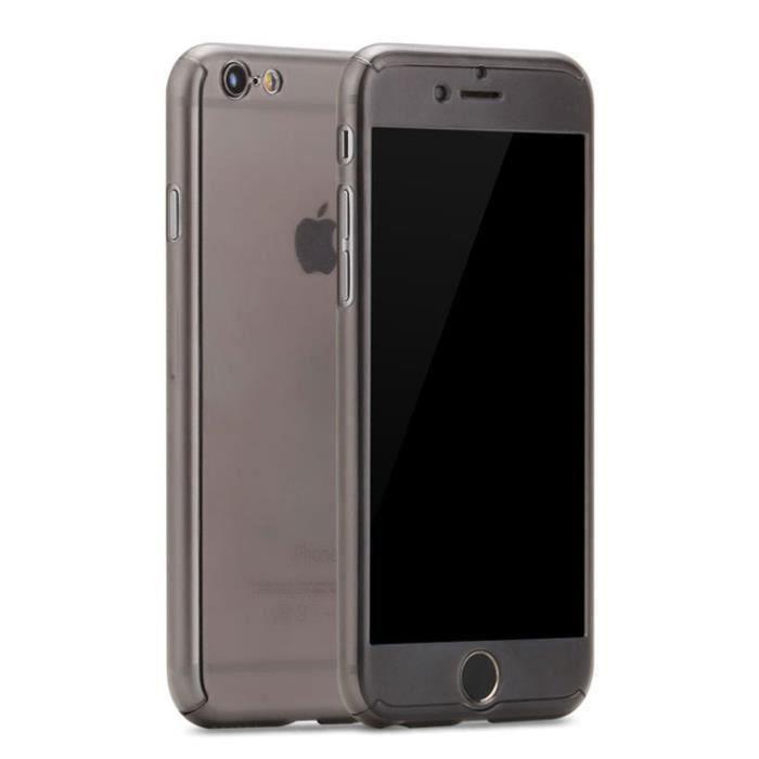 pour apple iphone 6 plus 6s plus 5 5 pouces coque tui translucide 360 protecteur d 39 cran de. Black Bedroom Furniture Sets. Home Design Ideas