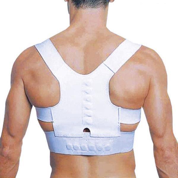 ceinture soutien support dos magn tique douleur posture armor r glable unisexe prix pas cher. Black Bedroom Furniture Sets. Home Design Ideas