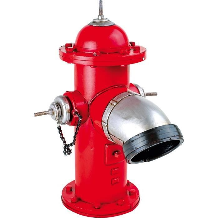 D co style vintage borne fontaine rouge achat vente objet d coratif m tal - Objet vintage occasion ...