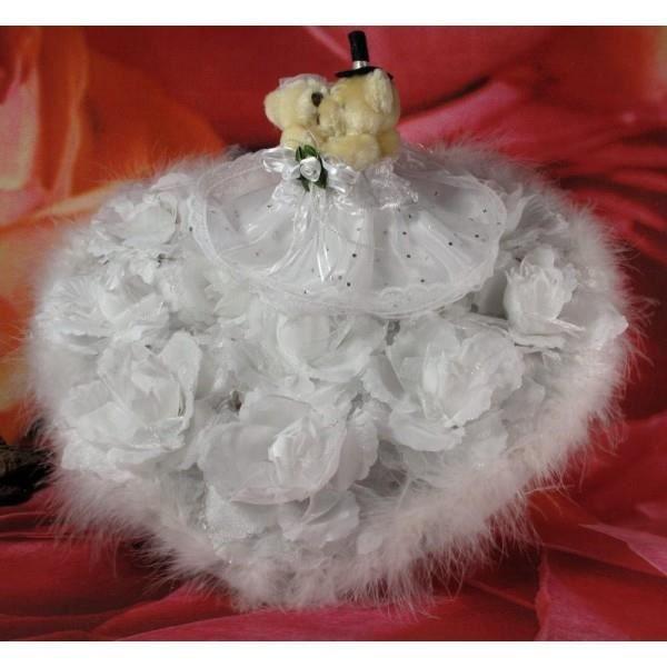 D coration de voiture de mariage oursons achat vente for Decoration maison voiture