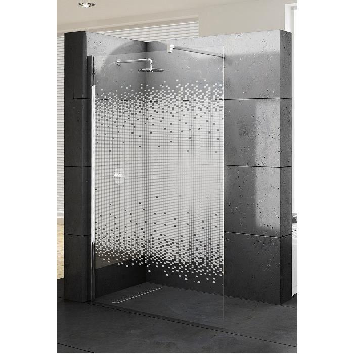Paroi de douche fixe kuadra h 100 s rigraphi achat vente cabine de douche paroi de douche - Paroi de douche 100 ...