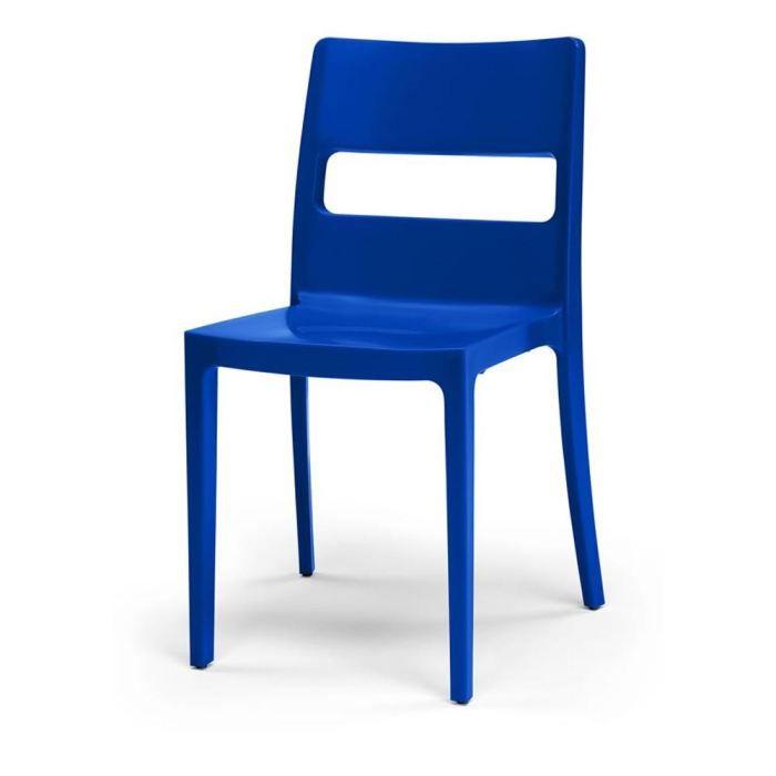 Chaise design bleue simply lot de 6 achat vente - Chaise lot de 6 ...