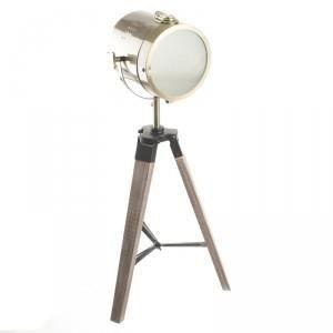 Paris Prix Lampe En M Tal Bois 68cm Or Achat Vente