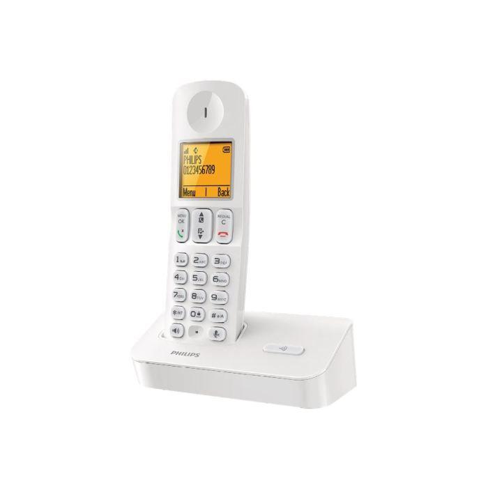 philips d400 t l phone sans fil avec id d 39 appel achat vente combin suppl mentaire. Black Bedroom Furniture Sets. Home Design Ideas