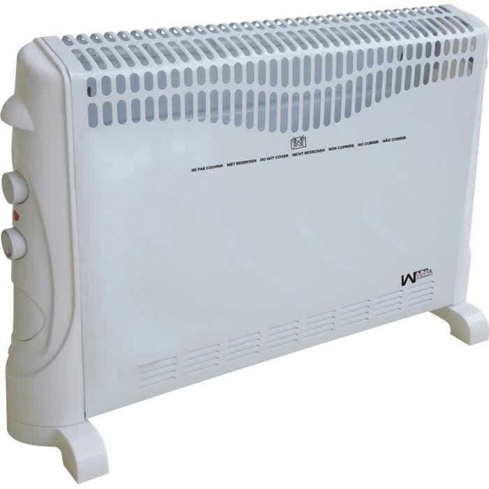 chauffage radiateur lectrique convecteur 2000w achat. Black Bedroom Furniture Sets. Home Design Ideas