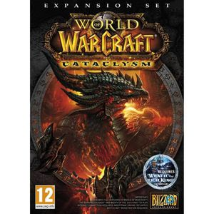 JEU PC World of Warcraft: Cataclysm Expansion Pack PC/…