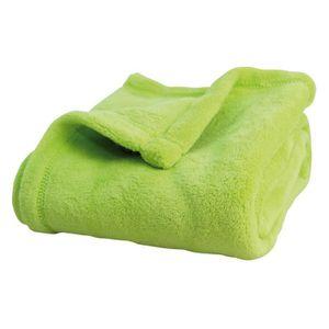 couvre lit plaid vert b b achat vente couvre lit plaid vert b b pas cher cdiscount. Black Bedroom Furniture Sets. Home Design Ideas