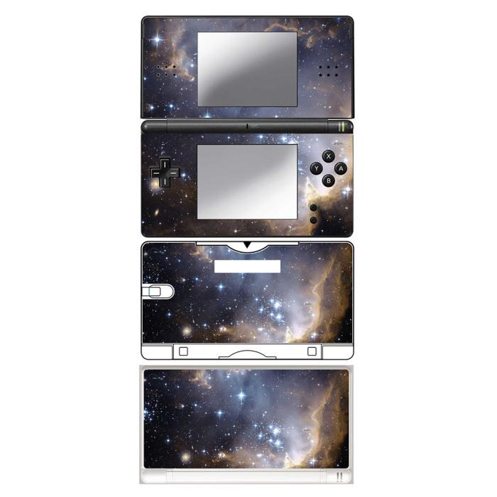 skin stickers pour nintendo ds lite sticker galaxy star achat vente protection ecran. Black Bedroom Furniture Sets. Home Design Ideas