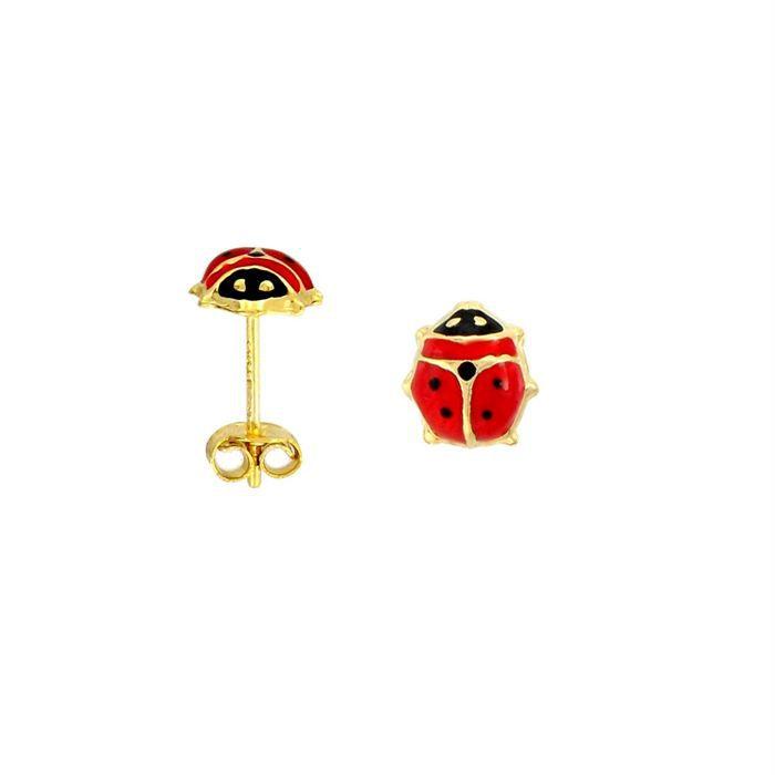 R ve de diamants boucles d 39 oreilles enfant rouge et noir achat vente boucle d 39 oreille r ve - Poussette de boucle d oreille ...