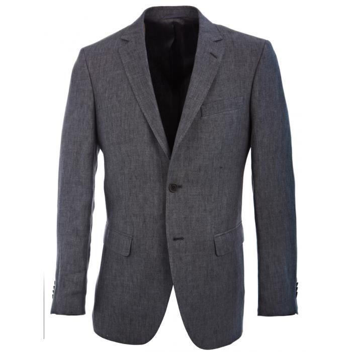 veste en lin homme achat vente veste en lin homme pas cher cdiscount. Black Bedroom Furniture Sets. Home Design Ideas