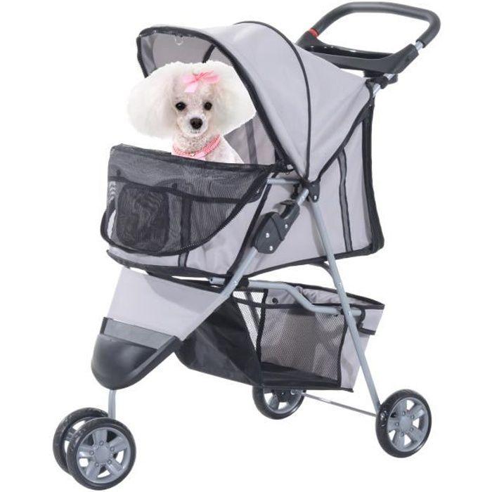 Poussette pour chien achat vente poussette pour chien pas cher cdiscount - Fabriquer un harnais pour chien ...