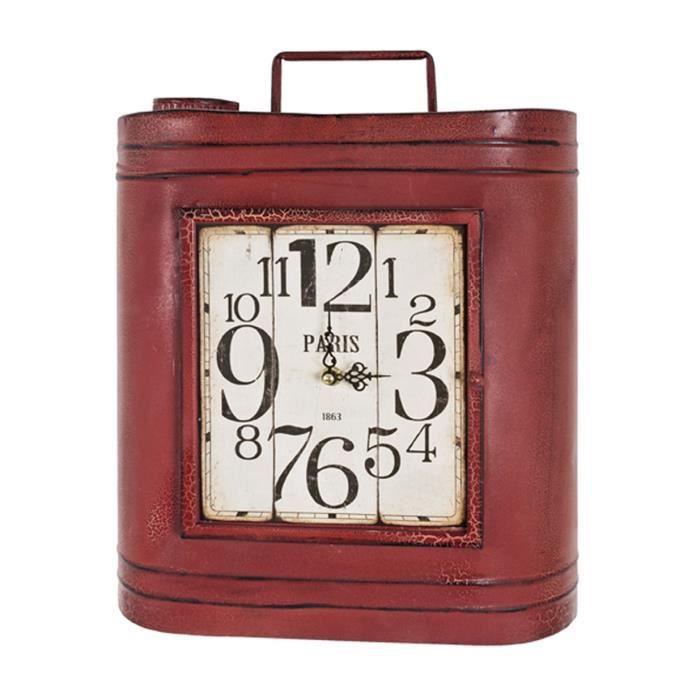 Boite cl s petra rouge l33 x h39 x p18 cm achat for Maison rouge boite de nuit