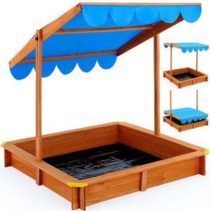 bac sable avec couvercle achat vente pas cher les. Black Bedroom Furniture Sets. Home Design Ideas