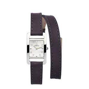 MONTRE Montre pour femme cadran carré double bracelet ...