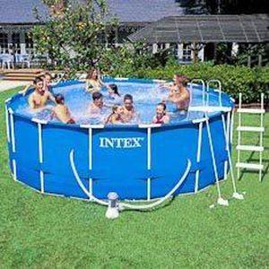 Lavabo bache de securite piscine ronde for Bache piscine securite