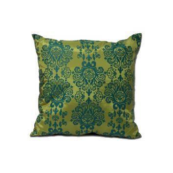 housse de coussin 50 x 50 cm baroque vert achat vente housse de coussin les soldes sur. Black Bedroom Furniture Sets. Home Design Ideas