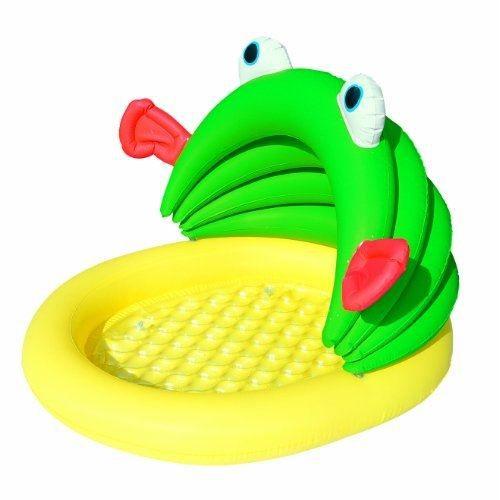 Bestway petite piscine b b gonflable poisson 114 x 109 cm - Piscine bebe gonflable ...