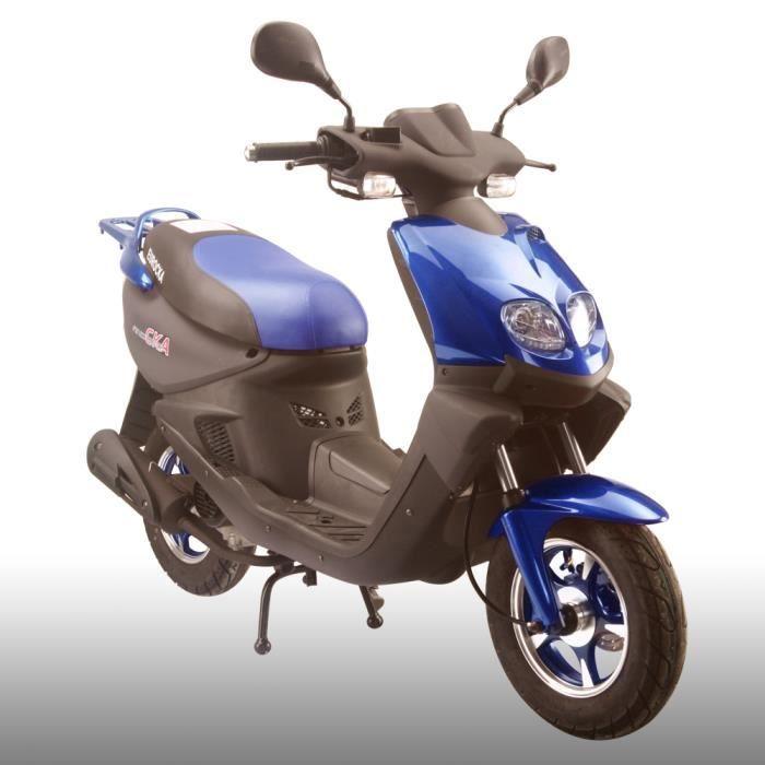 scooter trek 50cc 4t bleu achat vente scooter scooter trek 50cc 4t bleu cdiscount. Black Bedroom Furniture Sets. Home Design Ideas