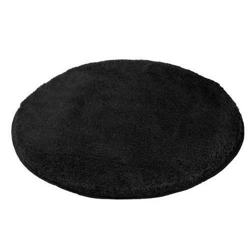 kleine wolke 5405926521 tapis de bain relax 100 cm rond noir achat vente. Black Bedroom Furniture Sets. Home Design Ideas