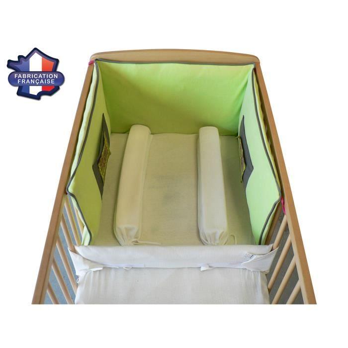 modulit r ducteur de lit 60x120 ponge ecru fabrication fran aise achat vente r ducteur de. Black Bedroom Furniture Sets. Home Design Ideas